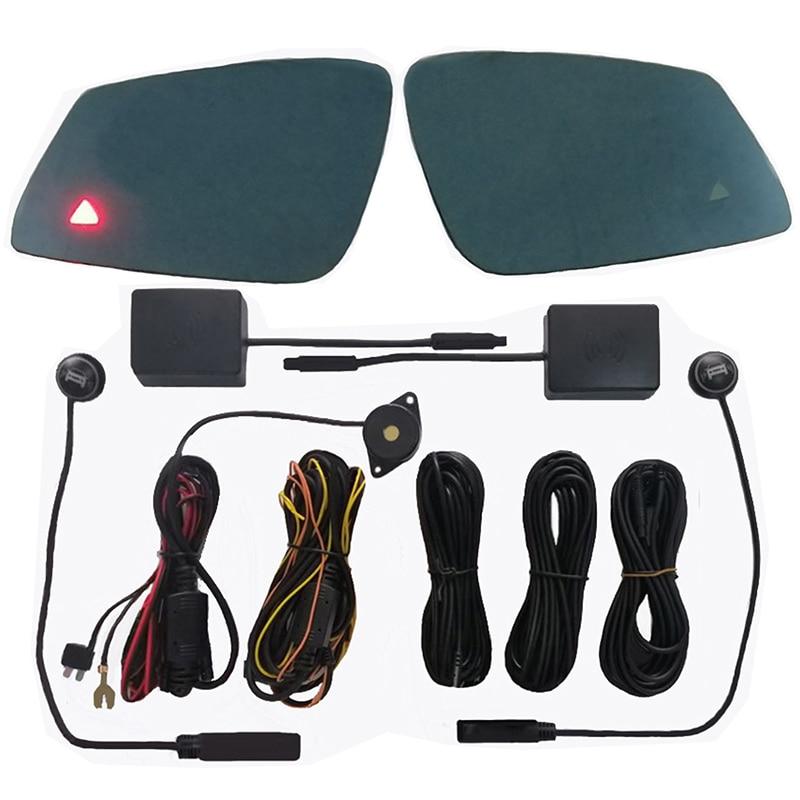Car Alarm System Radar Detector Blind Spot Mirror BSD BSA BSM Assistant For Auto Mercedes Benz W221 W212 W204 W205