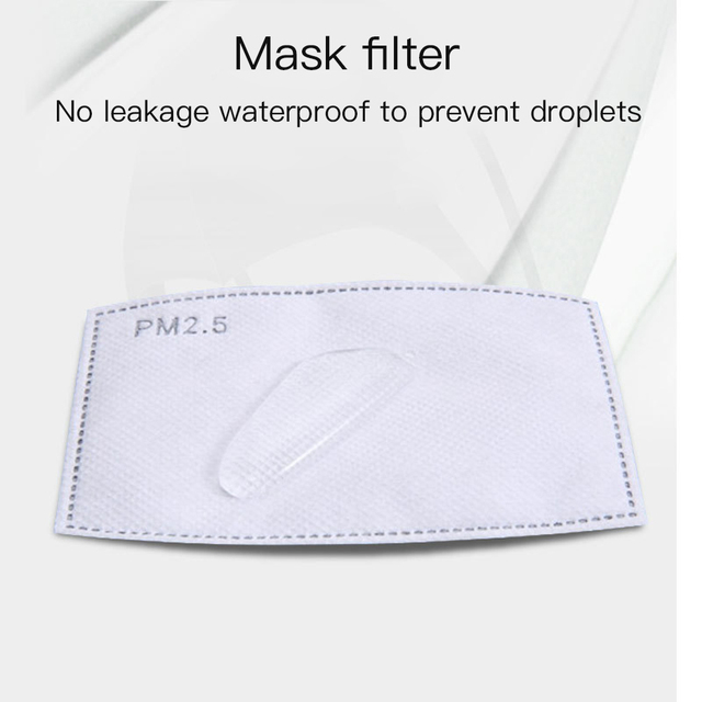 2020 New Cotton Washable Mouth Mask Anti Haze Dust Mask Nose Filter Windproof Face Muffle Bacteria Flu Fabric Cloth Respirator 3