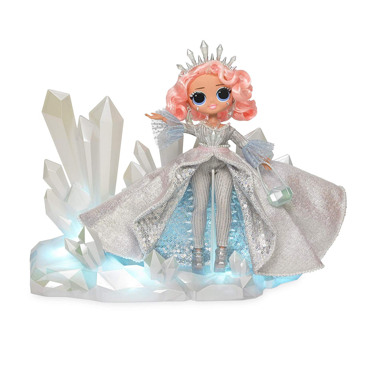 The One Bebe De Luxe l.o.l. surprise! winter disco o.m.g. crystal star 2019 collector edition  fashion doll girl toy gift