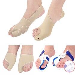 Bunion Protector Feet Care Orthotics Thumb Straightener Hallux Valgus Corrector Orthopedic Adjuster Big Toe Protector Pedicure