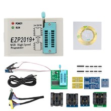 Volledige Set High Speed Usb Spi Programmer + 12 SOP8 Clip Adapter(China)