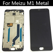 Original for Meizu Metal MTK Helio X10 LCD Display + Touch Screen + Tools tested Digitizer Glass Lens Assembly Replacement original for meizu m2 mini mtk6735 lcd display touch screen frame tools tested digitizer glass lens assembly replacement
