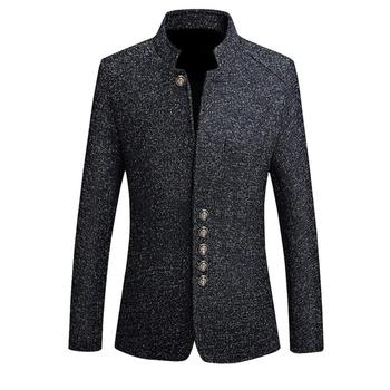 JODIMITTY Blazers Men Hot Sale Autumn Chinese Style Casual Suits Large Size Male Spring Fashion Suits High Quality Coat M-5XL
