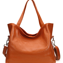 Large Genuine Leather Bag Women Crossbody Bags