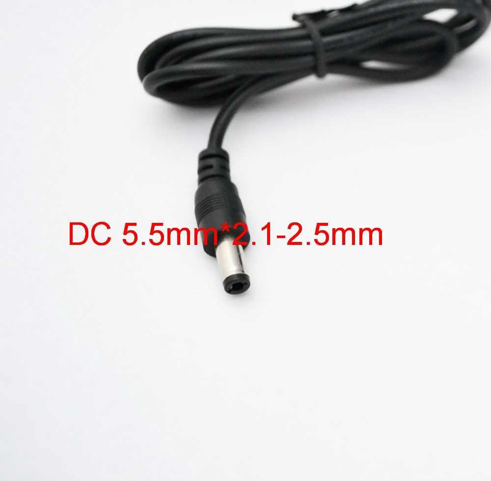 Nowy 1 sztuk AC/DC adapter 3V 4.5V 5V 6V 7.5V 8V 9V 10V 12V 15V 500mA 0.5A 1A 1000mA zasilacz impulsowy ue wtyczka DC 5.5mm x 2.5mm