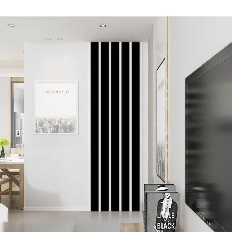10 шт./компл. полосатый дизайн зеркальные наклейки самоклеющиеся съемный