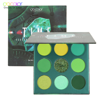 Docolor 9 Colors Gemstone Eye Shadow Palette Makeup Powder Matte Shimmer Glitter Eyeshadow Palette Waterproof Pigmented Cosmetic 1
