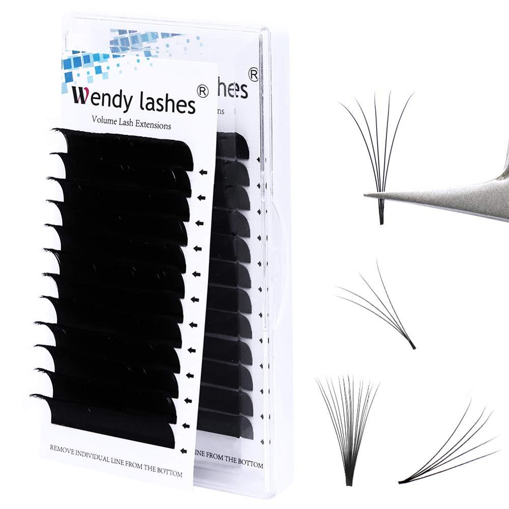 Easy Fanning Blooming Automatic Flowering Eyelash Faux Mink Make Fan Russian Volume Silk Lashes Make Up Cilia