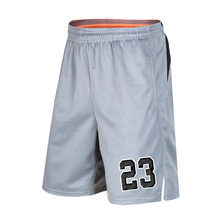Number 23 Men Basketball Shorts Sports Running Breathable Shorts With Pocket Summer Athletic Men's Shorts