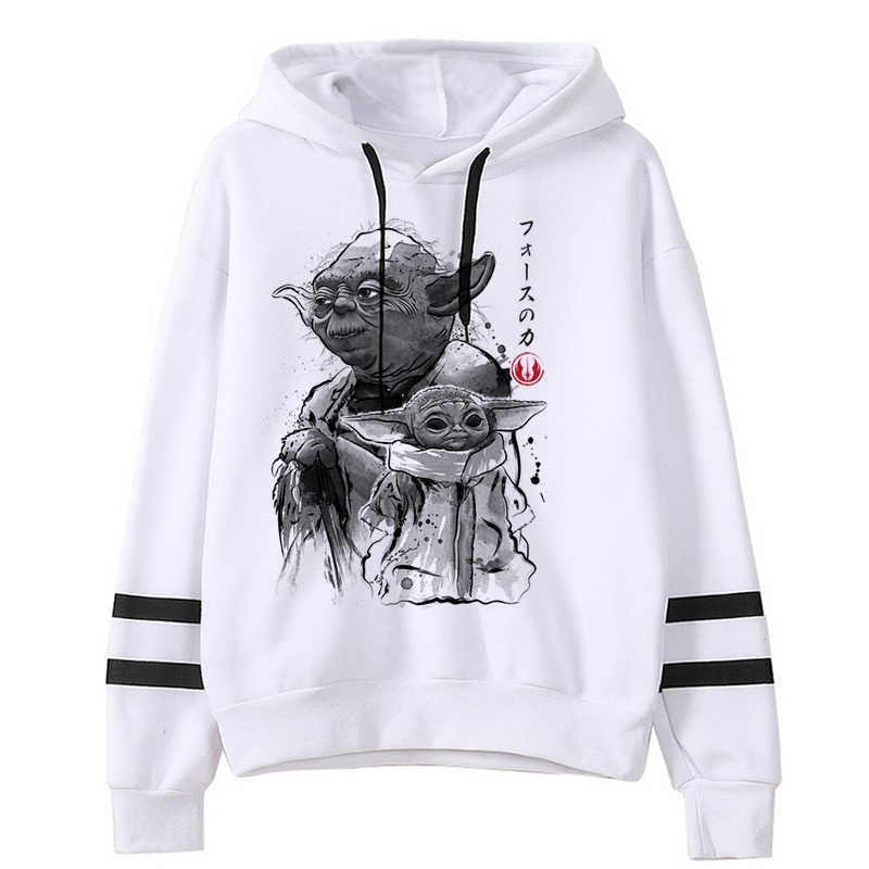 Baby Yoda Mandalorian 남성/여성 New Hoodie Mandalorian 유니섹스 운동복 스타 워즈 영화 프린트 후드 카툰 Cool Harajuku