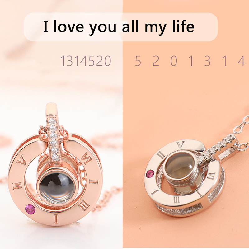 Rose-Gold-100-Languages-I-Love-You-Projection-Pendant-Necklace-for-women-Jewelry-Love-Memory-Wedding(3)