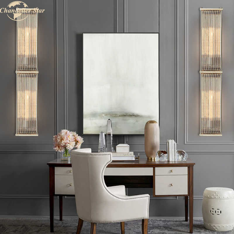 Modern Vintage Crystal Wall Lamp For Living Room Bedroom Bathroom Kitchen Corridor Decor Nordic Led Lustres Indoor Lights Led Indoor Wall Lamps Aliexpress