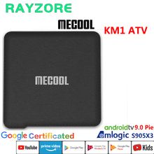 MECOOL KM1 ATV Set Top Box Amlogic S905X3 Android 9.0 TV