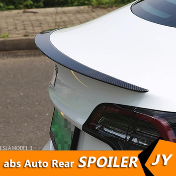 For Tesla model 3 Spoiler 2012-2018 Tesla model 3 High Quality Carbon Fiber Material Spoiler For Tesla model 3 Spoiler