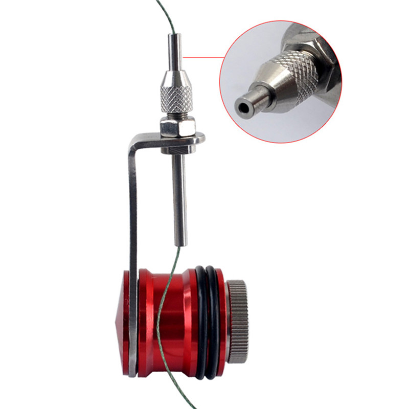 New Fishing Bobbin Knotter FG GT RP Line Wire Knotting Tool Cable Connector Fishing Line Winder Assist Knotting Machine