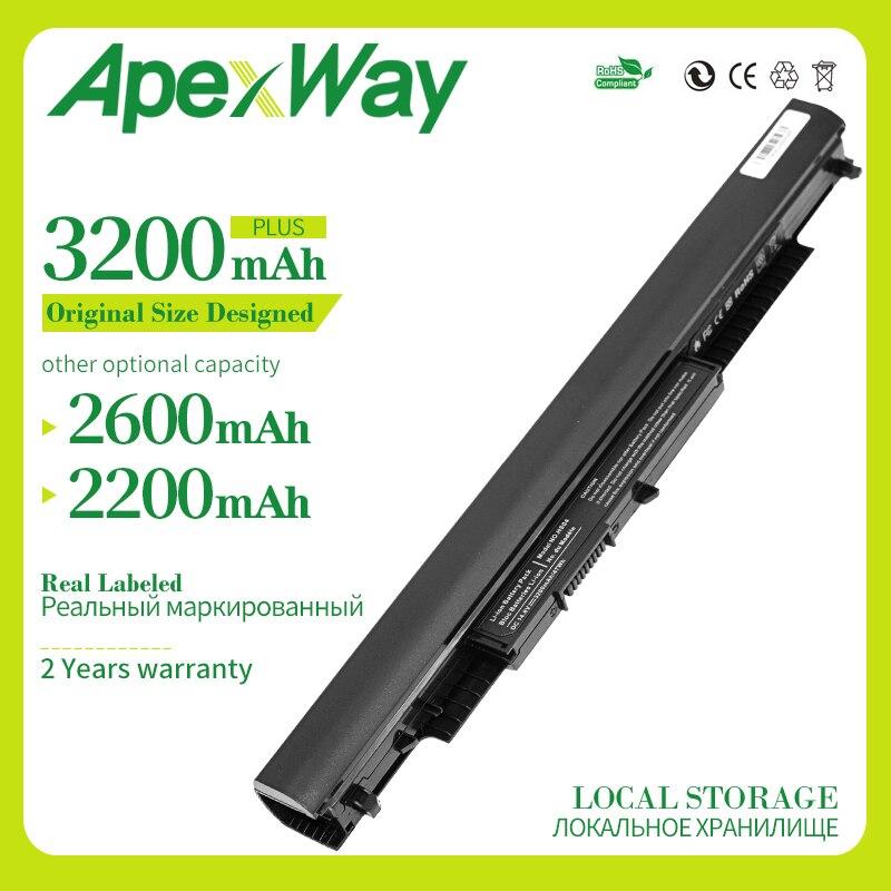 Apexway 14.8V HS03 HS04 HSTNN-LB6V HSTNN-LB6U Laptop Battery For HP 240 245 250 255 G4 Notebook PC Pavilion 14-ac1xx 15-af0XX