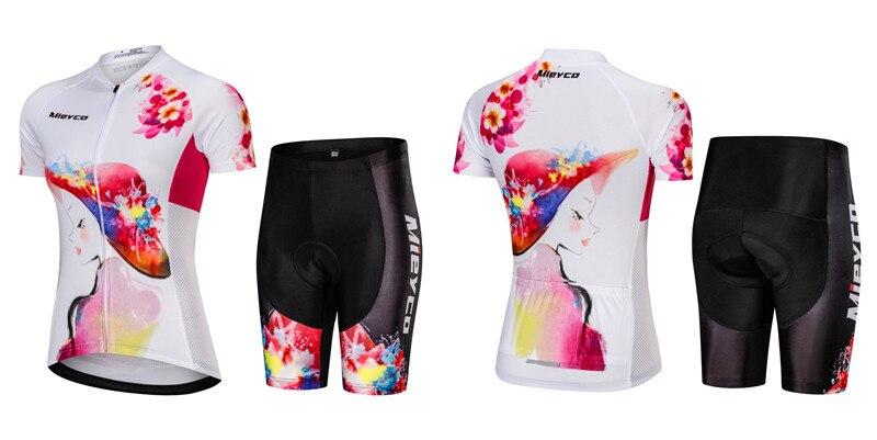 Mieyco verão ciclismo jérsei roupa de estrada