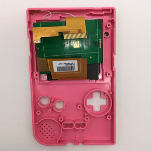 Image 5 - Replacement LCD Screen Kits for GBP Screen Backlight with ribbon cable for Nintend GBP LCD Screen High Light Gamepad Console NEW