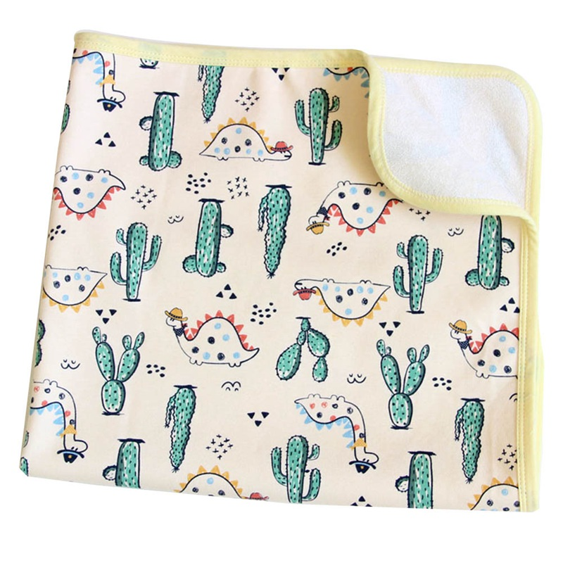 Baby Diaper Changing Mat Infants Portable Foldable Washable Waterproof Breathable Large Insulation Pad Nursing Cushion