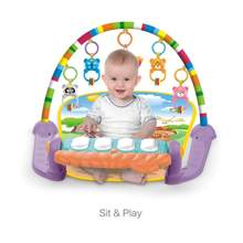 Toddler Infant Baby Musical Piano Gym Play Mat Floor Crawling Game Blanket Toy stimulate senses товары для младенцев(China)