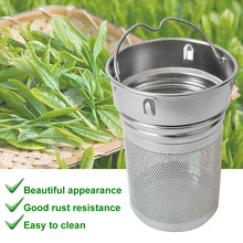 Hiking Portable Tea Infusers Laser Hole Stainless Steel Tea Strainer Bottle Office Drinking Non-rust Two Mesh Filter Spice Home(China)