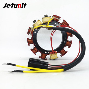 JETUNIT Outboard Parts Stator Assy Generator Magneto 35Amp 6Cyl For Johnson Evinrude 150-175HP 173-4292 584292 583710 763764 jetunit 100%premium outboard 9 amp stator assy for mercury 60 85hp 9 amp 2 3