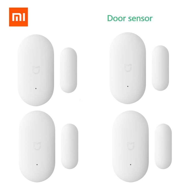 Bulk Sale Original Xiaomi Door Window Sensor Xiaomi Smart Home Kits Alarm System Work With Gateway Mijia Mi Home APP Door Sensor