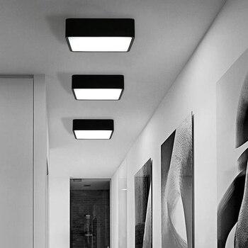 Modern LED Ceiling Lamp 18W Square 30x30cm Energy Saving for Home Bedroom Living Room J99Store