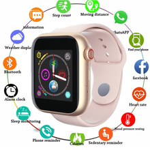 Smart Watch SIM 2G Android Phone Support TP Card Camera Video Player Bluetooth Call Message For Apple Watch Men Women smart watch men women with sim card camera bluetooth call pedometer message reminder phone watch for apple android amazfit gtr
