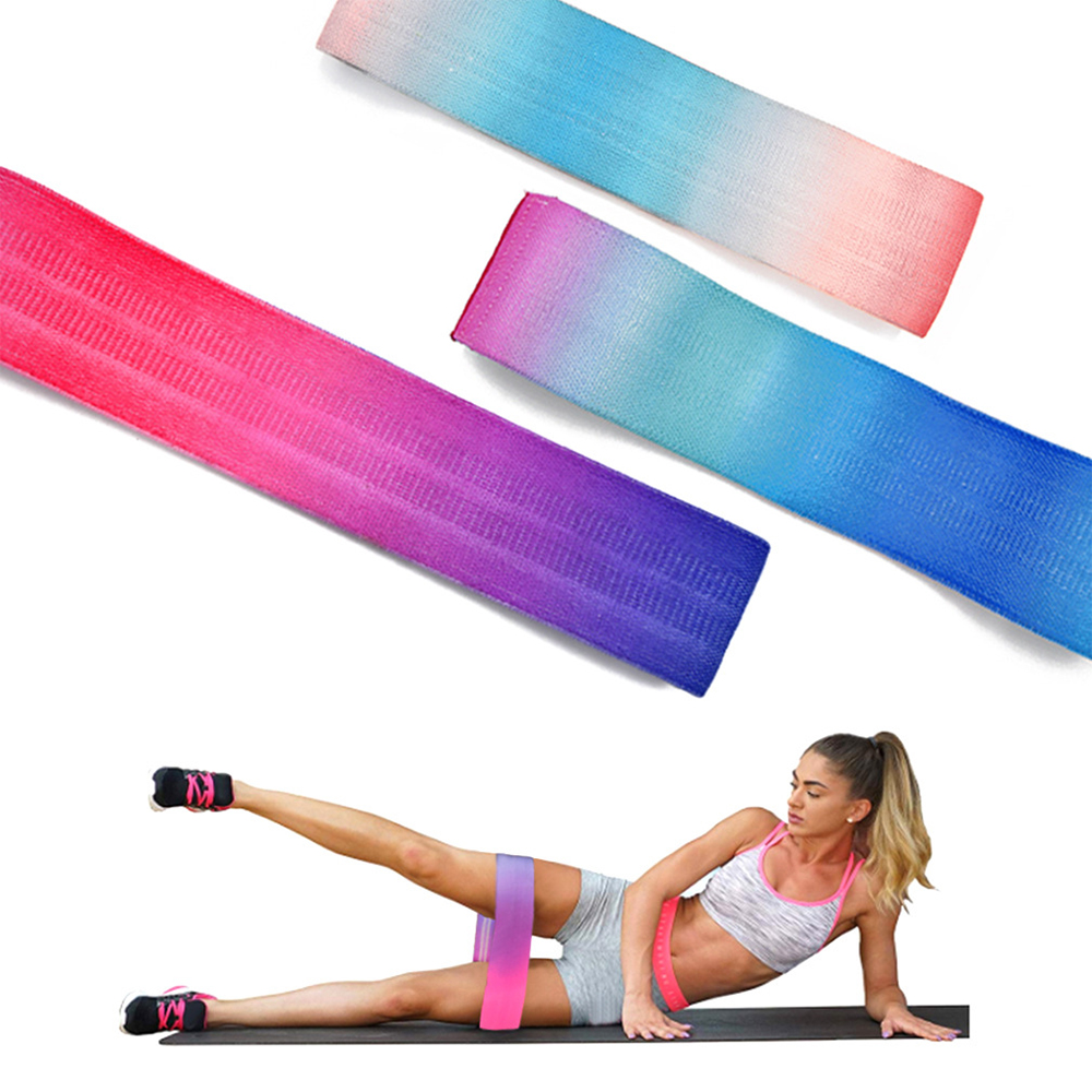 Exercises Resistance Bands High Elastic Fitness Deep Squat Hip Ring Sports Tension Belt Sport Training Workout Elastic Bands New