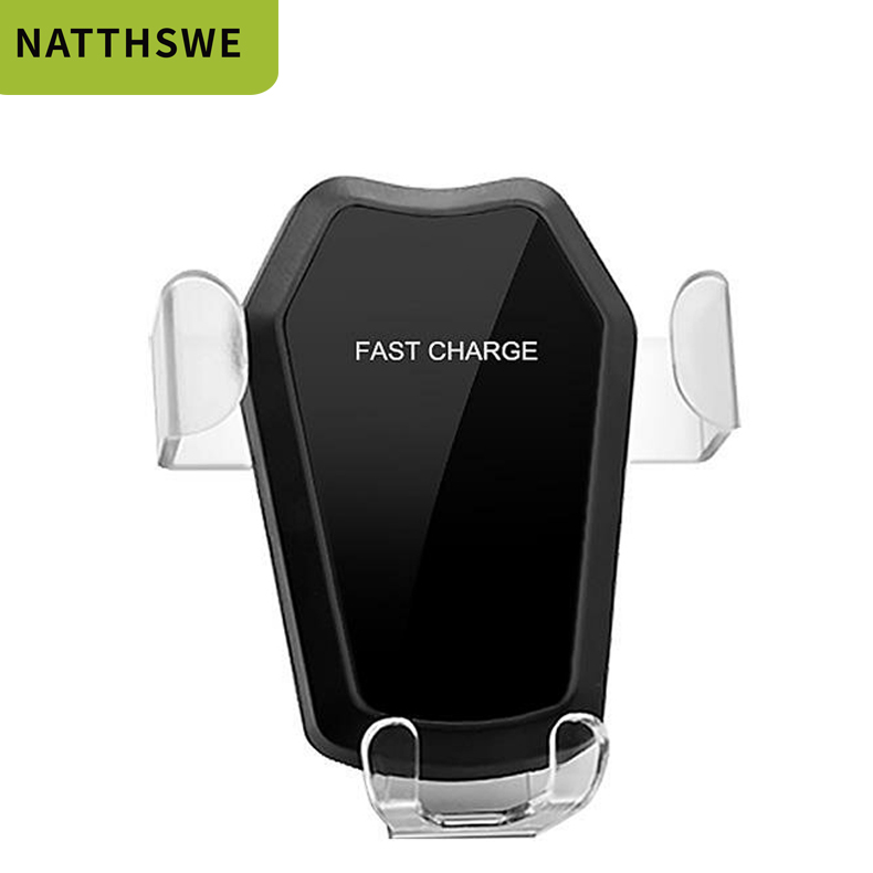 NATTHSWE Stand Fast-Charger Wireless Car-Mount-Holder Huawei MIX QI Xiaomi IPhone Xs