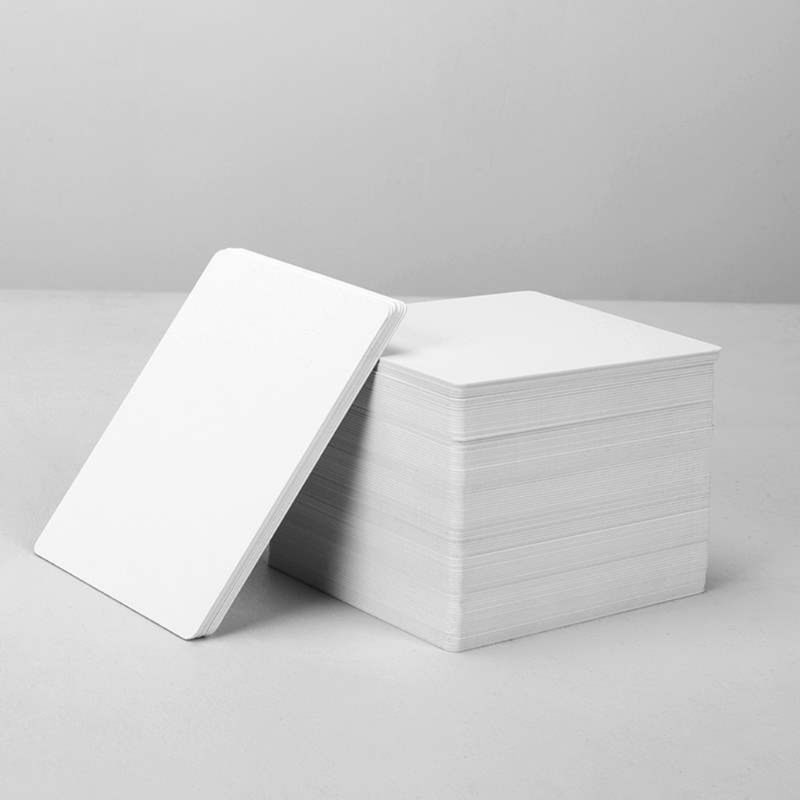 2020 New 100 Premium White Blank Inkjet PVC ID Cards Plastic Double Sided Printing Cards
