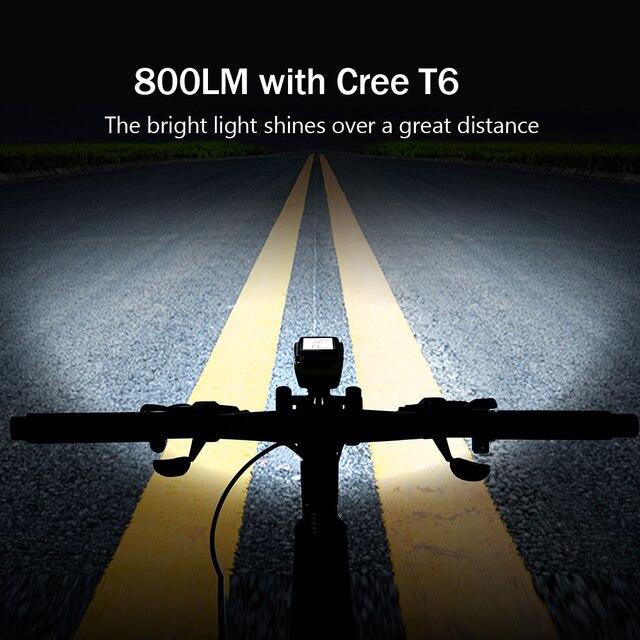 4 modo usb bicicleta luz da lâmpada do computador 3 modo chifre lanterna ciclo velocímetro led luzes dianteiras ciclismo farol 4