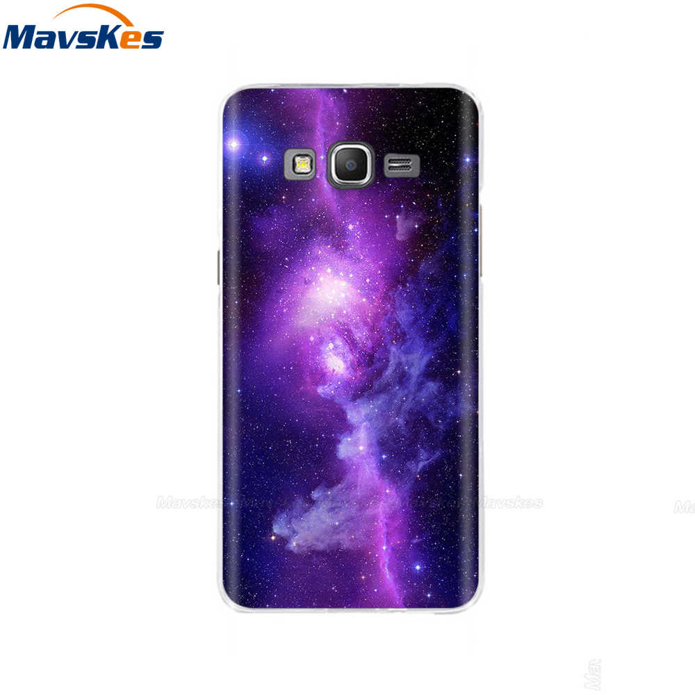 Für Coque Samsung Galaxy Groß Prime Fall G530 G530H G531 G531H G531F SM-G531F Flora TPU Fall Abdeckung Nette Silikon Telefon fällen