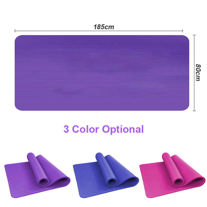 1 5cm Longer Wider And Thicker Yoga Mat Oversized And Gym Soft Eco Friendly Foldable For Body Fitness Exercises Anti Slip Pads Yoga Mats Aliexpress
