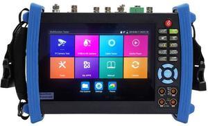 Image 2 - 7 Inch H.265 4K IP HD CCTV Tester Monitor AHD CVI TVI SDI Tester 8MP 5MP ONVIF HDMI In TDR Multimeter Optical fiber POE 12V Out