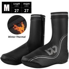 Чехлы для велосипедных ботинок WEST BIKING, теплая зимняя водонепроницаемая термообувь, аксессуары для горных велосипедов