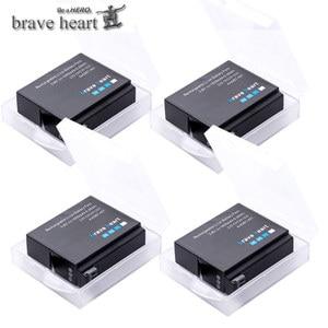 Image 2 - Bateria Gopro גיבור 4 hero4 סוללה + LED 3 חריצי USB מטען עבור GoPro HERO4 שחור/כסף/לבן פעולה מצלמה אבזרים