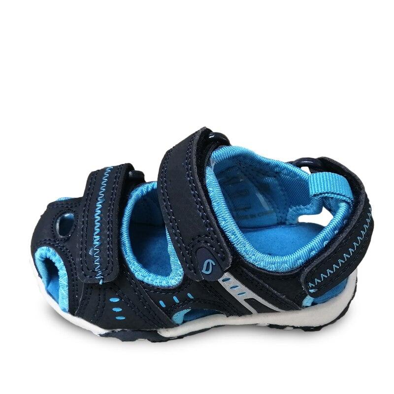 couro antiderrapante criancas sapatos praia interno 05