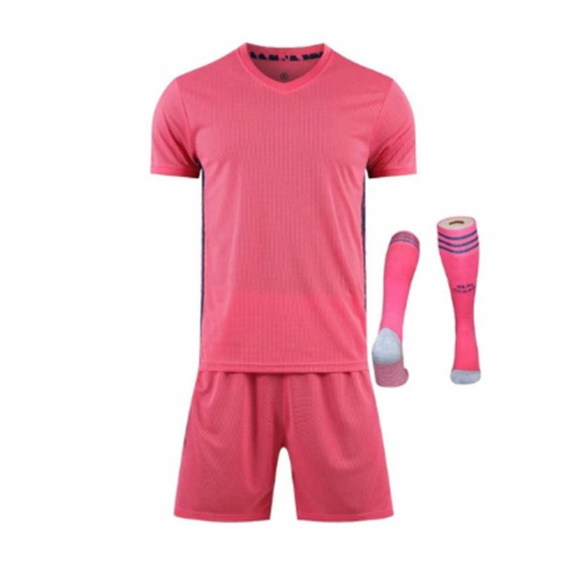 Children Sets football uniforms boys and girls sports kids youth training suits blank custom print soccer set with socks 30