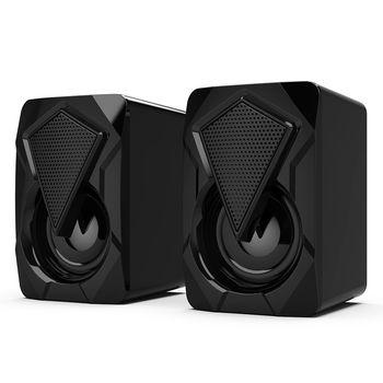 Stereo Sound Surround Loudspeaker X2 RGB Computer Speakers USB Powered 3Wx2 Bass Speakers for Desktop Laptop PC 2
