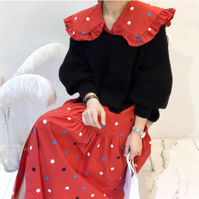 Вязаные свитера для женщин Осень wnter новые корейские Элегантные