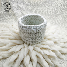 Don&Judy Basket Nest+ Wool Blanket +150*100cm Backdrop 3pcs/set Photo Newborn Blanket Background for Photo Shoot Prop