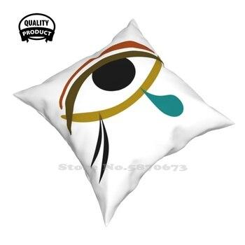 Tear Pillow Cover Hug Pillowcase Tear Tears Eye Egypt Egyptian Abstract Horus Knowledge Charm Wisdom 1