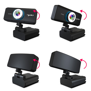Webcam 1080P 30FPS Full HD Streaming Video Anchor USB Web Camera Built-in Stereo Microphone With Tripod for PC Computer 3