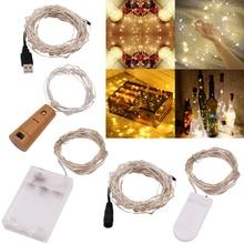цена на LED Strip Light Fairy Lights String Luces Led Decoracion 50M 30M 20M 10M 5M 3M 2M Light for Garland Home Christmas Wedding Party