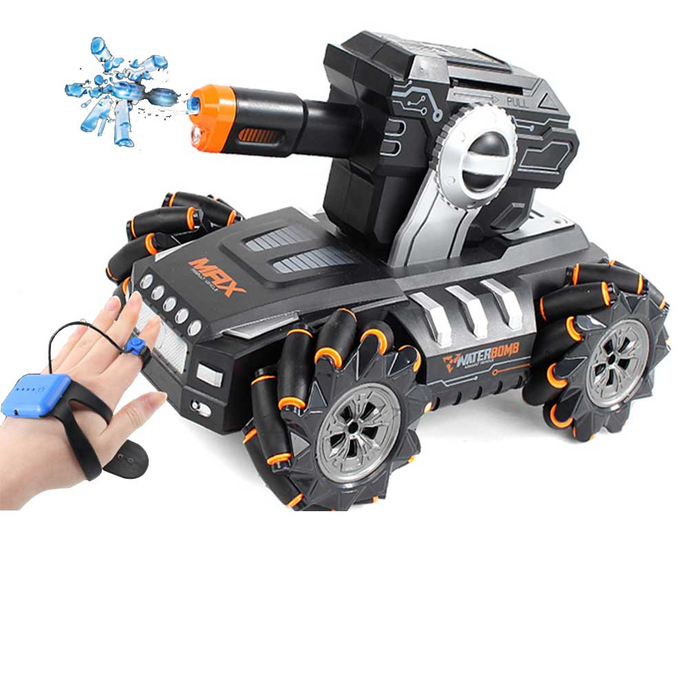 SHAREFUNBAY 2020 New Rc Car 1:12 4WD Rc Car 2.4hz Battle Game Launches Water Bomb Gesture Induction Rc Car Children's Toy
