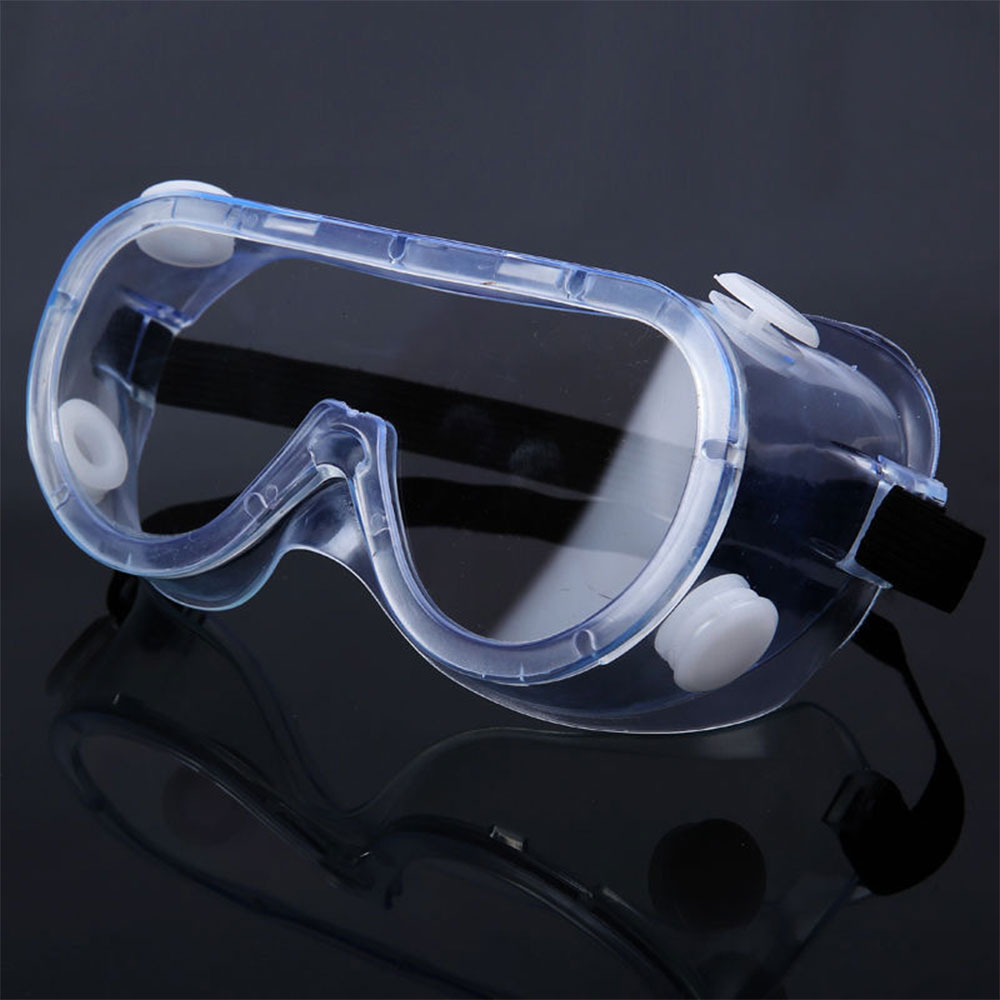 New Fully Enclosed PC Clear Lens Safety Goggles Splash Proof Outdoor Anti-Sneeze Liquid Sport Goggle Motobike Cycling Goggle