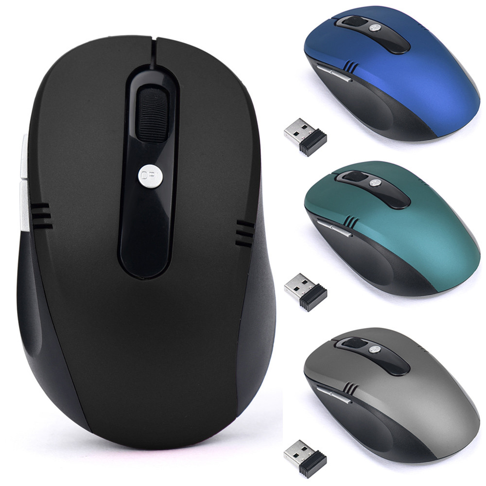 2.4GHz Wireless Mouse USB Optical Scroll Mice For Tablet Laptop Computer Luxury Weight Light 2000 Dpi 6 Buttons #20