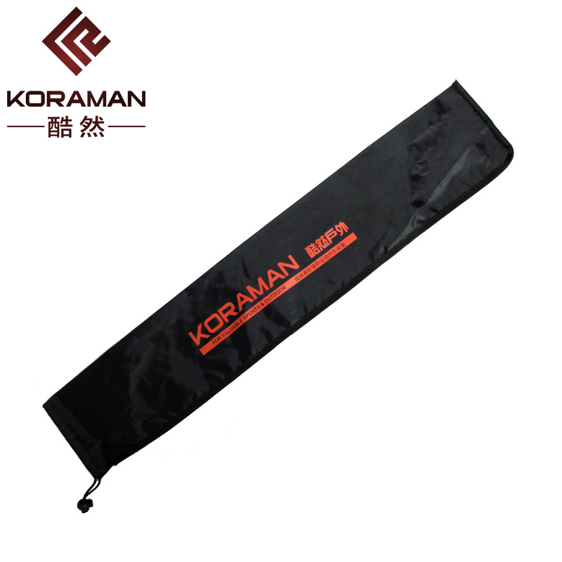 [Specification A] Three-section Straight Handle Alpenstock Storage Bag Nylon Wand Bag Pocket